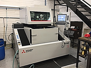 VK Precision are delighted to welcome our new Mitsubishi MV1200s wire machine
